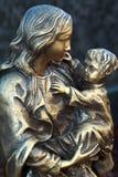 Maria avec l'enfant Photo libre de droits