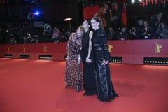 Maria Baeumer, Emily Atef, Birgit Minichmayr Obrazy Stock