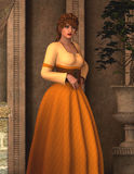 Maria - Beautiful Medieval Lady of the Manor - Image 2 Stock Images