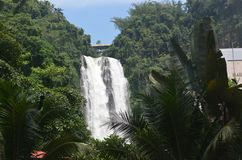 Maria Christina Falls dans la ville d'Iligan Photos stock