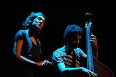 Maria Coma (band) performs at Centre Artesa Tracicionarius stage Stock Image