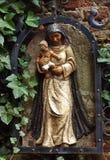 Maria con il bambino Fotografia Stock Libera da Diritti