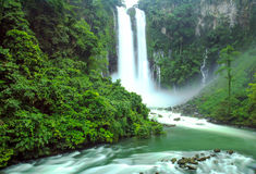 Maria cristina falls in Iligan City, Philippines Stock Photo