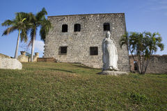 Maria de Toledo Plaza de Espana de Alcazar de Dois pontos (Palacio de Diego Colon) Santo Domingo República Dominicana Fotografia de Stock Royalty Free