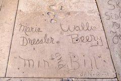 Maria Dresslers i Wallie Berrys Obraz Royalty Free