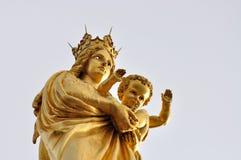 Maria e Jesus Fotografia Stock