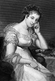 Maria Edgeworth Stock Photo