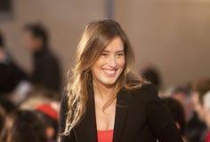 Maria Elena Boschi Royalty Free Stock Images