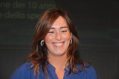 Maria Elena Boschi Stock Images