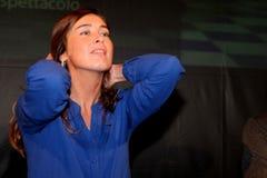 Maria Elena Boschi Royalty Free Stock Photos