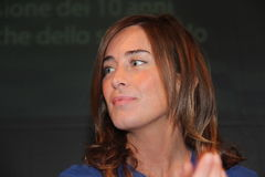 Maria Elena Boschi Royalty Free Stock Images