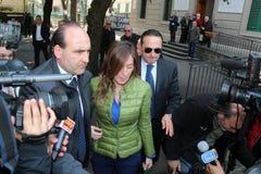 Maria Elena Boschi Stock Photo