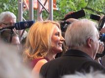Maria Furtwängler at the Festival des deutschen Films. Ludwigshafen, Germany - June 06 2016: Maria Furtwängler at the red carpet of the Festival des Royalty Free Stock Photo