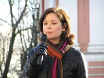 Maria Gaidar Immagini Stock Libere da Diritti