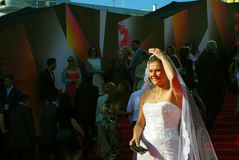 Maria Golubkina at Moscow Film Festival Royalty Free Stock Photography