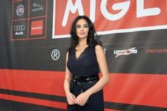Maria Grazia Cucinotta. Celebrity to 1000 Miles 2008 Stock Image