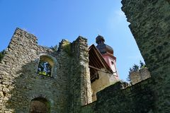 Maria help chapel in south germany Royalty Free Stock Photo