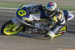 Maria Herrera Moto3 Uroczysty Prix Movistar Aragà ³ n Zdjęcia Stock