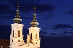 Maria Hilfer Kirche a Graz Fotografia Stock Libera da Diritti