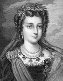 Maria II du Portugal Photos stock