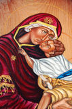 Maria with Jesus Royalty Free Stock Image