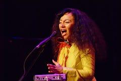 Maria Joao Ogre JazzLent Royaltyfria Foton