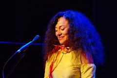 Maria Joao Ogre JazzLent Royaltyfria Bilder