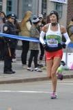 Maria Jose Pueyo Elite Runner NYC maraton Royaltyfria Bilder