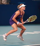 Maria Kirilenko in action Stock Photos