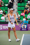 Maria Kirilenko Preparing Serve Royalty Free Stock Images