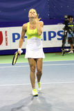 Maria Kirilenko of Russia win over Sabine Lisicki of Germany Stock Images