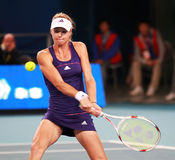 Maria Kirilenko, russian tennis player in action Stock Image