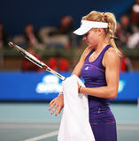 Maria Kirilenko, russian tennis star stock images