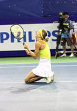 Maria Kirilenko van Rusland winer van PTT Open Pattaya Royalty-vrije Stock Foto
