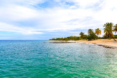 Maria la Gorda, Pinar del Rio. The beach at Maria la Gorda in the province Pinar del Rio stock photography