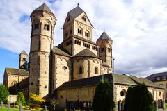 Maria Laach Abbey. Stock Images