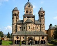 Maria Laach Abbey Stock Image