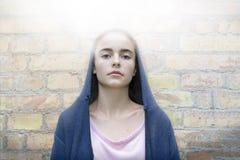 Maria le gusta el retrato de una muchacha del adolescente Imagen de archivo