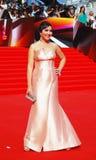 Maria Lemesheva at Moscow Film Festival Royalty Free Stock Photo