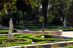 Maria Luisa garden, Seville, Andalusia, Spain Royalty Free Stock Photography
