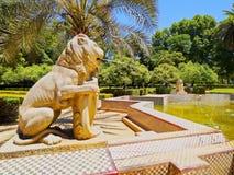 Maria Luisa Park i Seville, Spanien royaltyfri fotografi