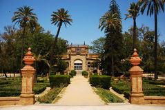 Maria Luisa Park, in Seville. Stock Image