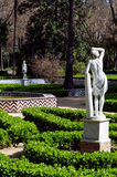 Maria Luisa Park Seville, Andalusia, Spanien Royaltyfri Fotografi