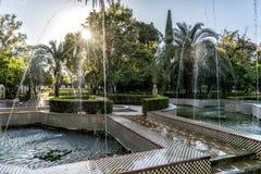 Maria Luisa park, Seville Hiszpania fotografia royalty free