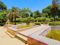 Maria Luisa Park in Seville, Spain Stock Image