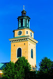 Maria Magdalena Church in Stockholm Stock Photo