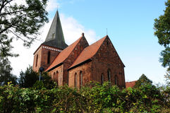 Old church in germany. The maria-magdalenen-Church in Berkenthin, Germany Stock Image