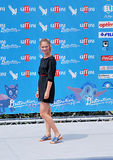 Maria Melandri al Giffoni Ekranowy festiwal 2016 Zdjęcie Stock