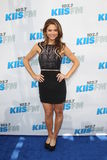 Maria Menounos arrives at the  Stock Photography