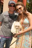 Maria Menounos,Ryan Seacrest Royalty Free Stock Photo